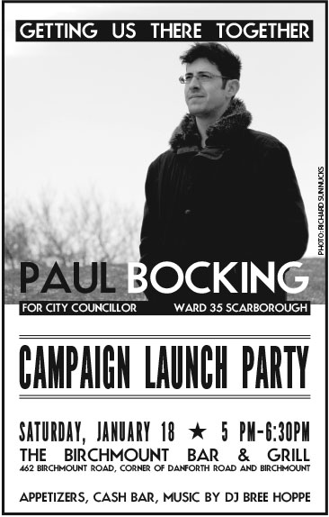 campaign launch party