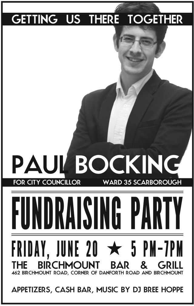 fundraising party