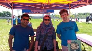 Meeting Toronto Environmental Alliance volunteers