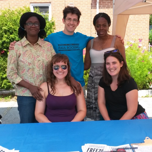church fair volunteers