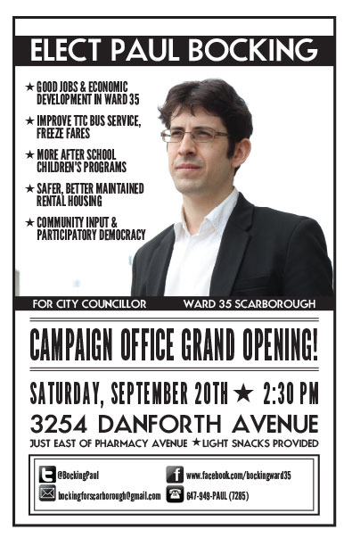 office opening flyer